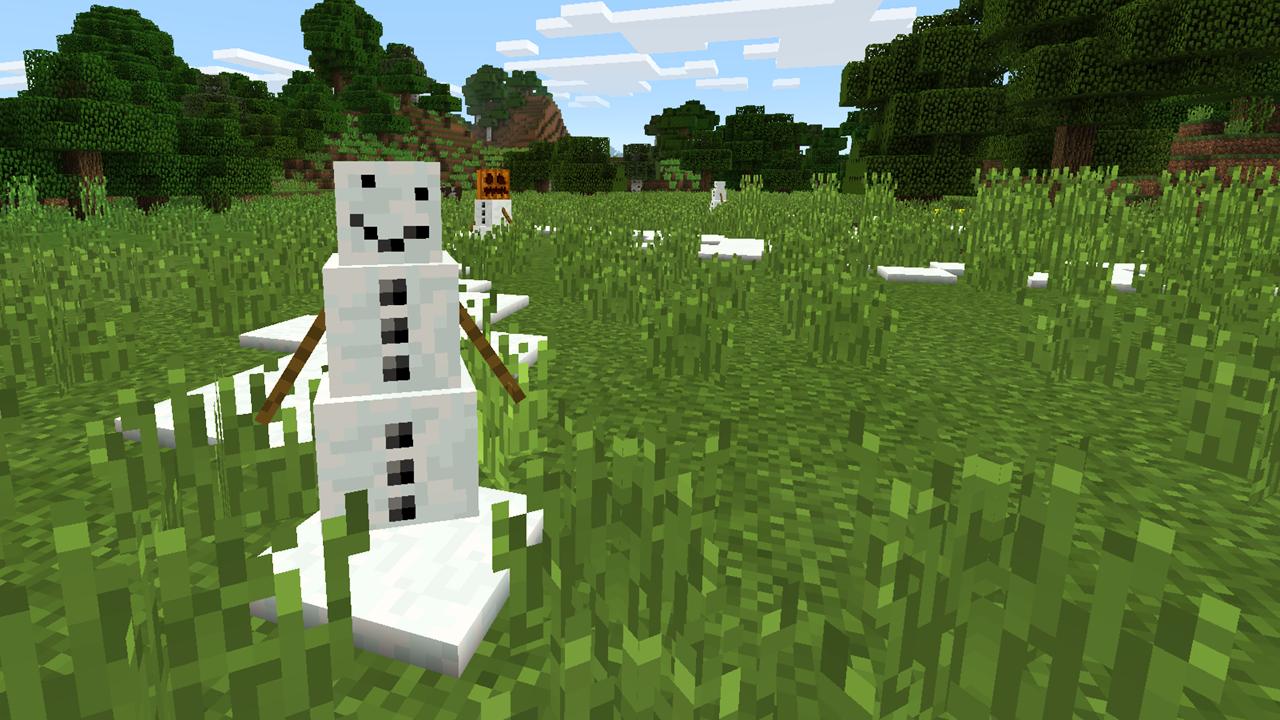 mcpe-snow-golem