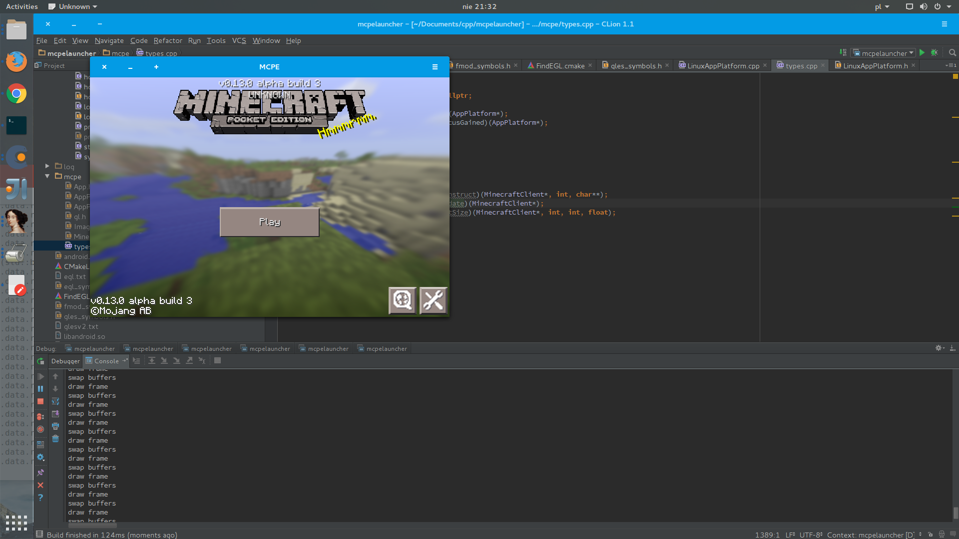 Minecraft Pocket… нет — Linux Edition?!