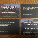 Как мне повезло с новыми визитками Mojang