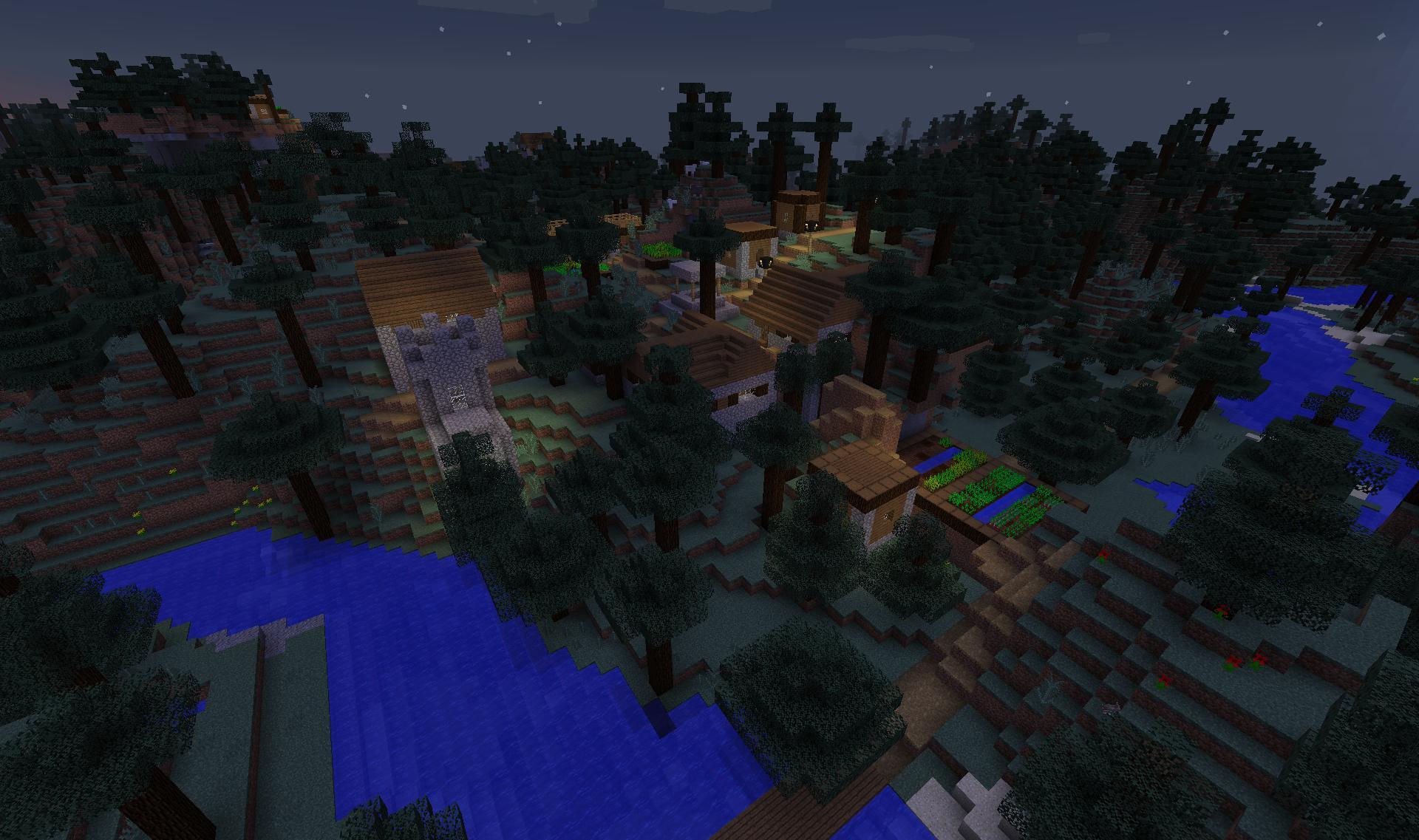 minecraft-1-10-taiga-village