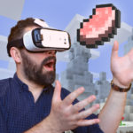 Вышел Minecraft для Gear VR