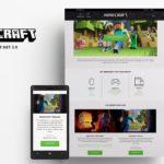 Официальный сайт Minecraft переведён на русский язык