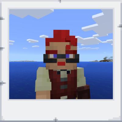 Minecraft Pocket Edition: Экспортированная фотография