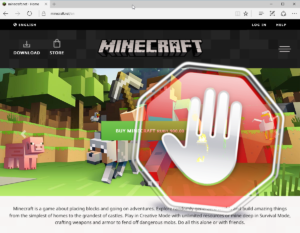 minecraft-net-blocked