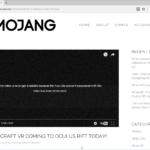 Официальный канал Mojang в YouTube заблокирован
