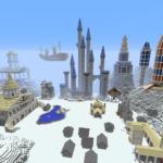 В Майнкрафте построили города из Героев 3