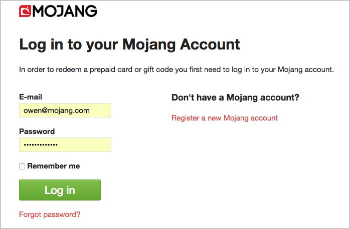 mojang-login