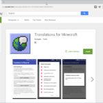 Приложение Translations for Minecraft опубликовано в GooglePlay