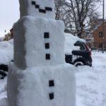 Сотрудниками Mojang материализован снеговик из Майнкрафта