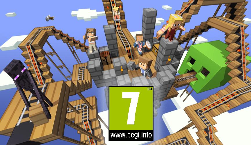Тернер Minecraft Игра 1 Играем В спросил Патрик хотя