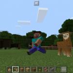В Minecraft Pocket Edition 1.1 будут добавлены ламы!