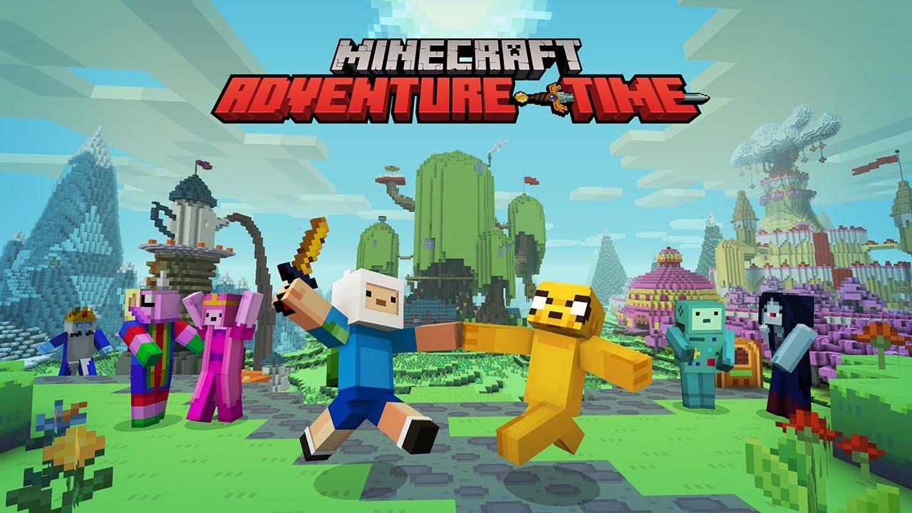 [Map] Adventure Time - карта из мультсериала » Скачать ...