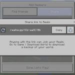 В Minecraft 1.2 упростили приглашения в Realms