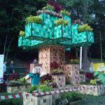 Minecraft на фестивале «Город-сад»в Воронеже