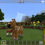 Minecraft 1.2.6 beta 1 —мобильные лошадки
