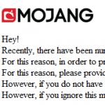 Фишинговая атака на игроков Minecraft — будьте осторожны!
