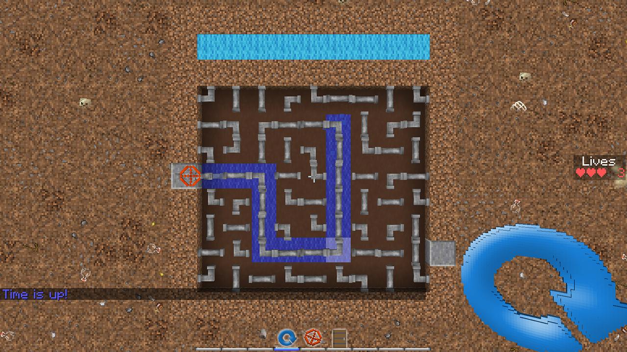 Карта Plumber для Minecraft. Режим игры «водопроводчик»