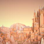 Замок в каньоне