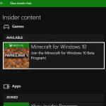 Как выйти из программы бета-тестирования Minecraft для Windows 10