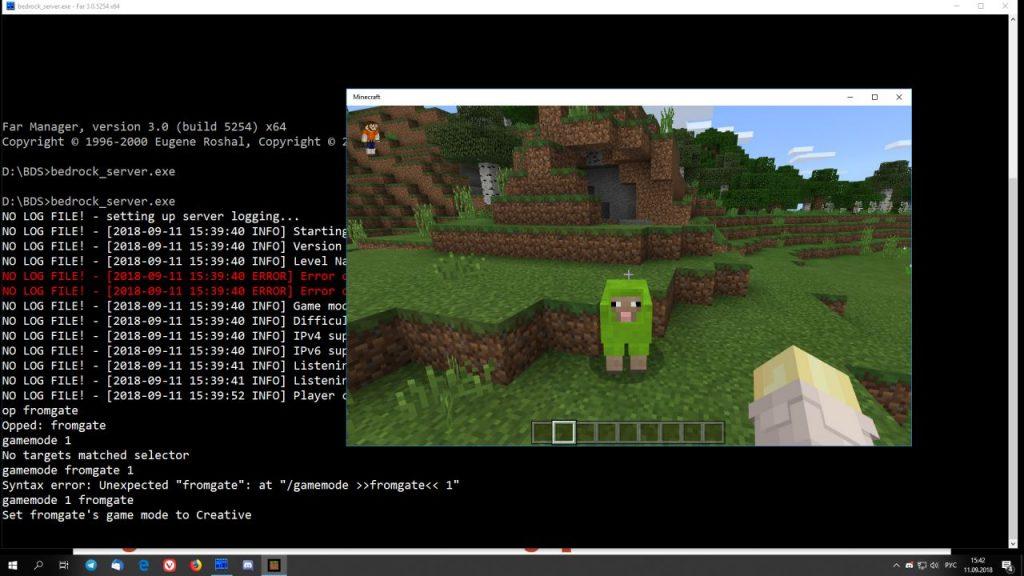 Выпущен официальный сервер Minecraft Bedrock  Что это такое