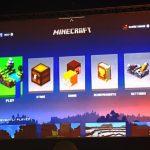 Новый интерфейс Minecraft показали на конференции Dot JS