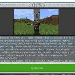 Вышла бета-версия Minecraft Beta 1.9.0.2