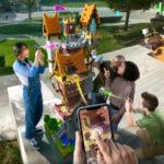 Minecraft Earth — новая игра Minecraft!