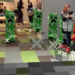 Попытка потрогать Minecraft Earth на конференции E3