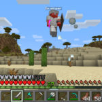 Изменение боевой механики Minecraft — снапшот 5