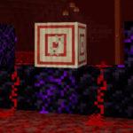 Мишень и плачущий обсидиан в новой версии Minecraft 1.16, снапшот 20w09a