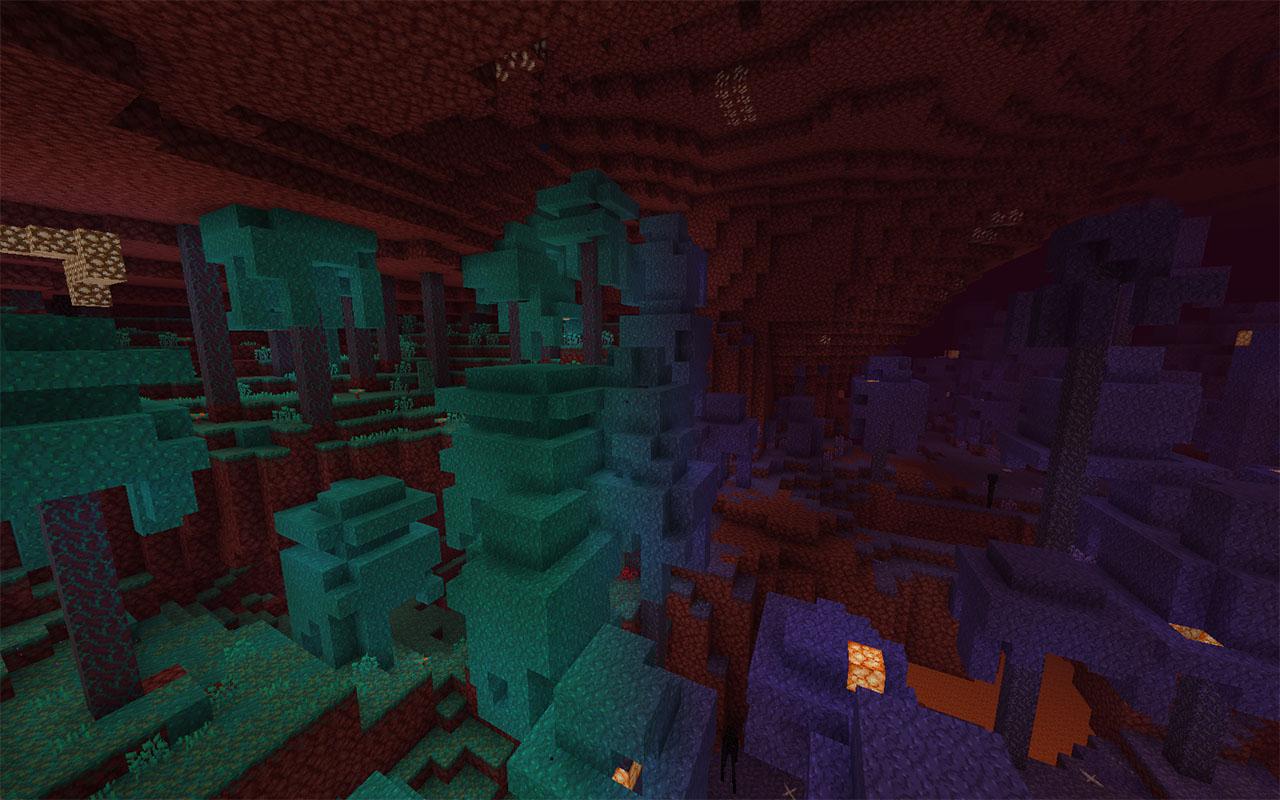 Незерария —ресурспак для новых биомов Minecraft