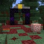Редстоуновый крестик в Minecraft 1.16, снапшот 20w18a