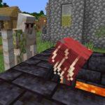 """""""Лавомерочное дистанцирование"""" в новой версии Minecraft 1.16, снапшот 20w19a"""