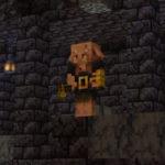 Брутально-сторожевой пиглин-здоровяк в Minecraft 1.16.2, снапшот 20w27a